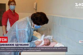 Львовские врачи спасли больных коронавирусом роженицу и ее малыша
