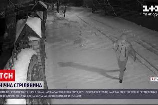 В Сумах мужчина стрелял по камерам наблюдения