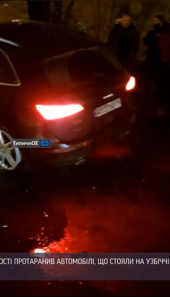 Новости Украины: во время ДТП в Харькове разбились три авто