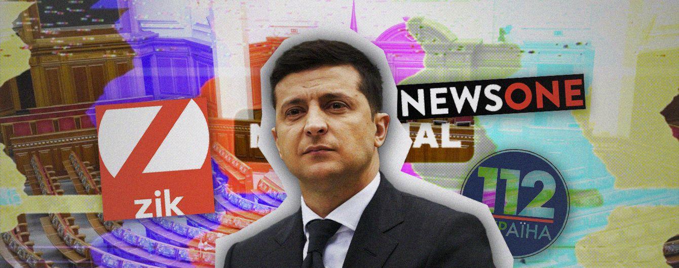 Политическая турбулентность: как закрытие каналов Медведчука и игра Разумкова повлияют на рейтинги власти