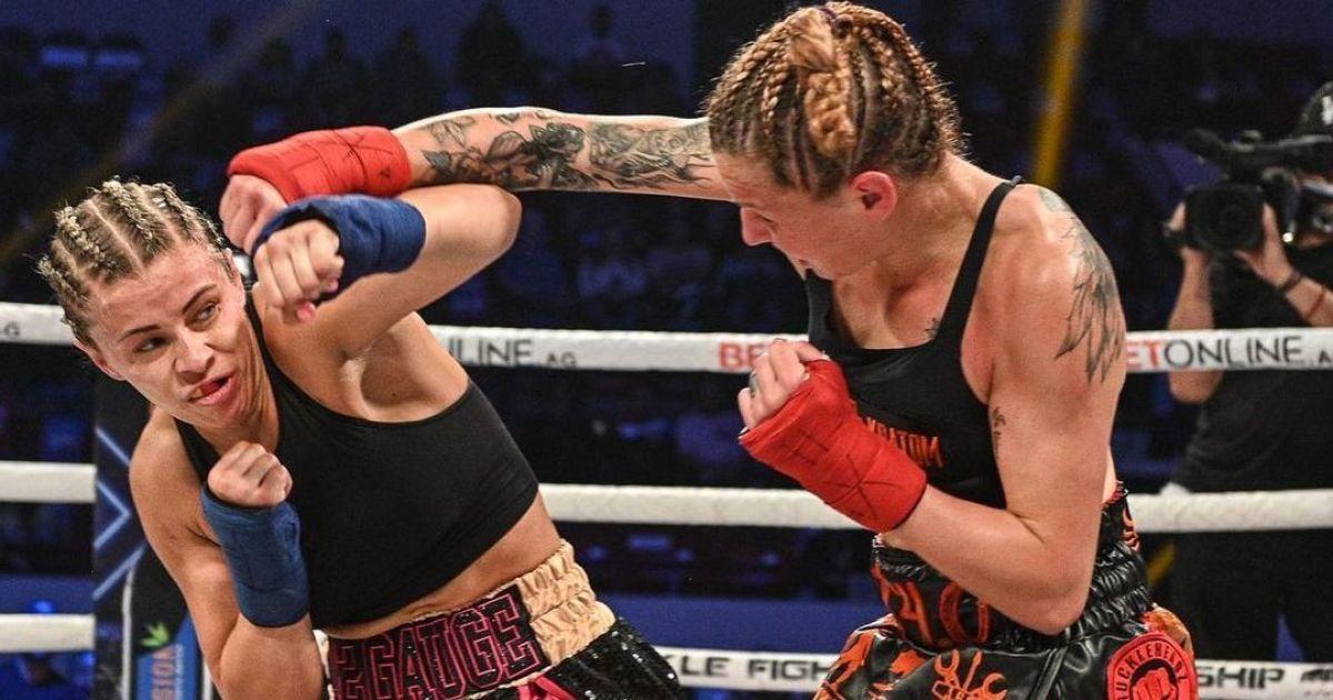 Секс-символ UFC поразкою дебютувала в кулачних боях і показала підбите око (відео)