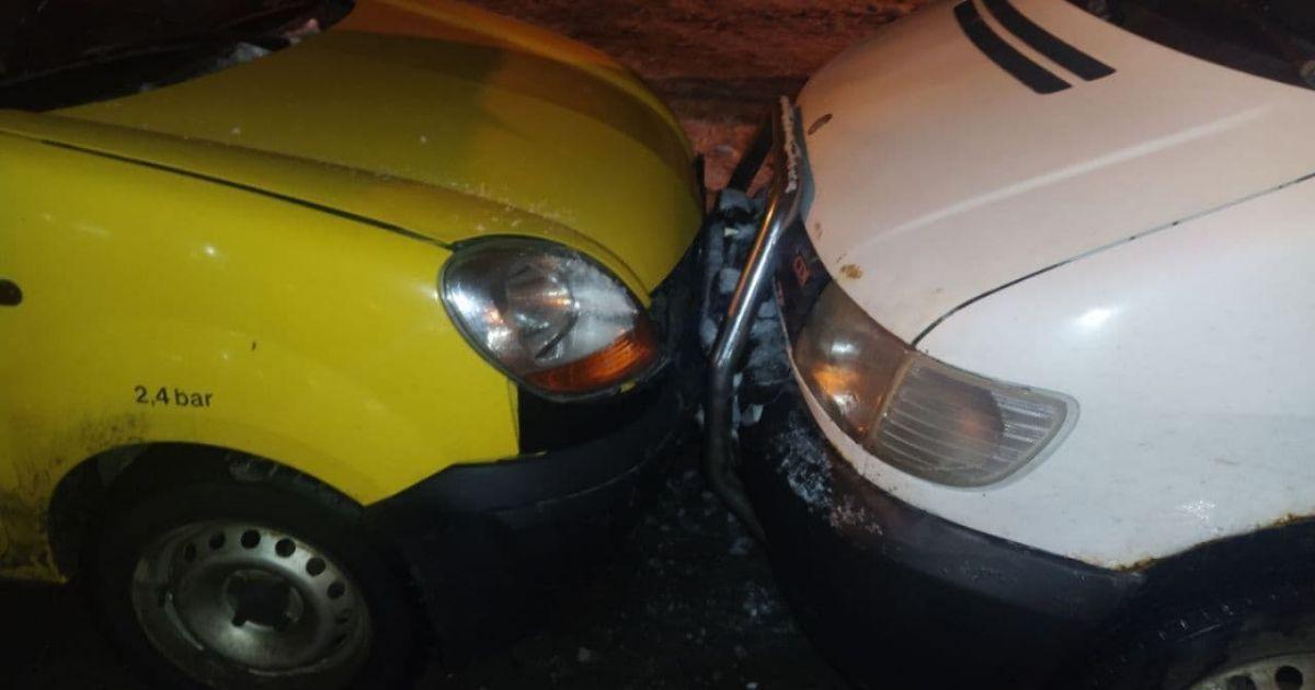 В Одессе пьяный автомобилист спровоцировал ДТП: пострадало семь машин