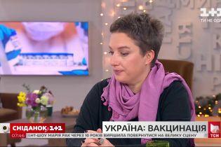 Інфекціоністка відповіла на запитання про вакцинацію в Україні