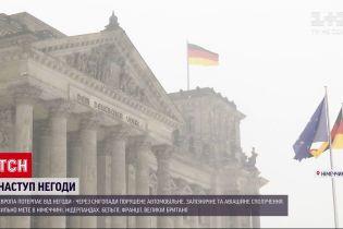 Новини світу: Європа потерпає від потужних снігопадів