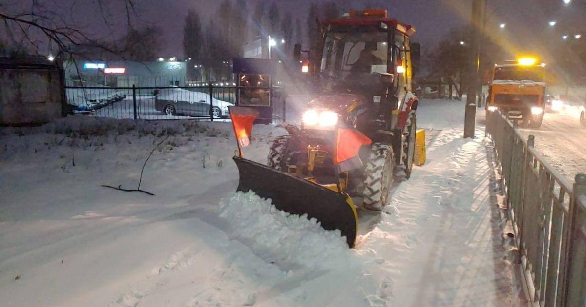 Гололедица, метели и снежные заносы до 20 см: к чему готовиться Киеву в ближайшие дни