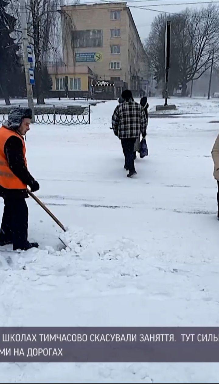 Погода в Украине: удается ли коммунальщикам противостоять снегопадам