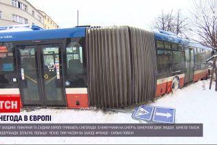 Новости мира: в Европе продолжаются сильные снегопады