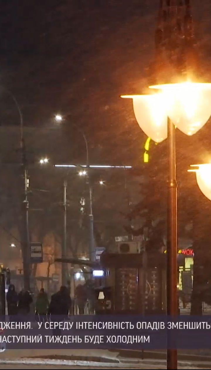 Погода в Украине: синоптики прогнозируют уменьшение интенсивности осадков