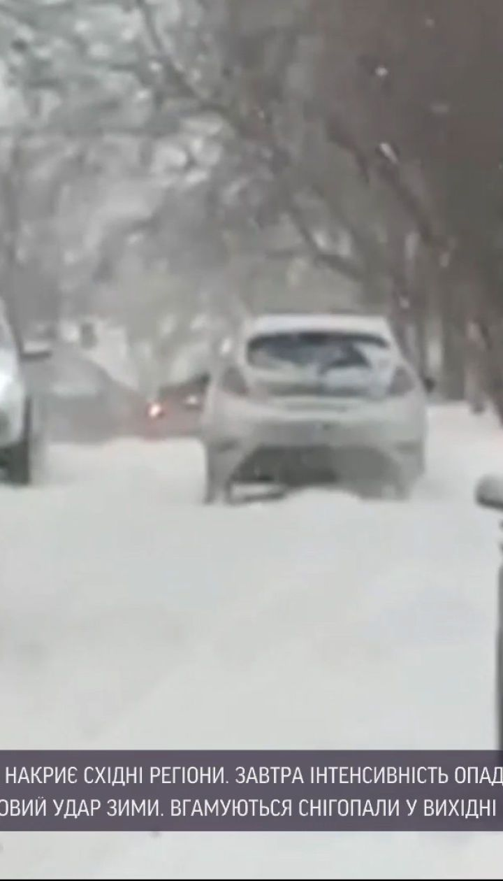 Погода в Україні: регіони постраждали від снігового шторму