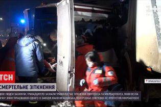 Новости Украины: во время ДТП на Прикарпатье погибли два человека