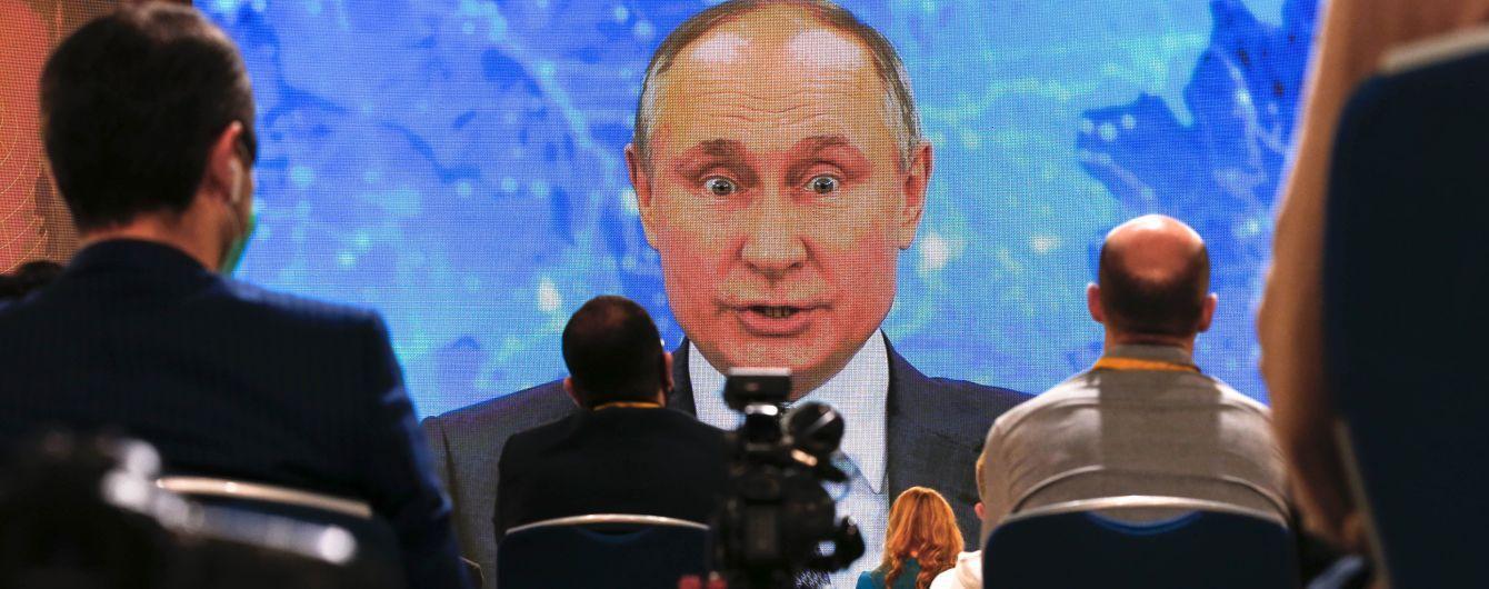 """Путін заявив, що """"не полишить Донбас"""" за жодних умов"""