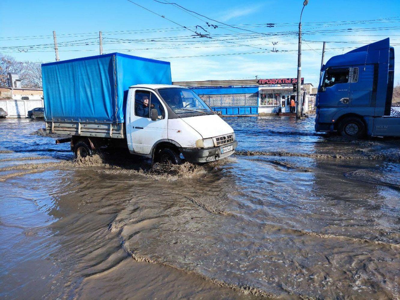 підтоплення в Одесі