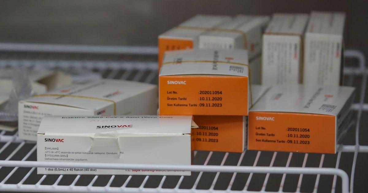 В Украину прибудет полмиллиона доз китайской вакцины CoronaVac — Степанов