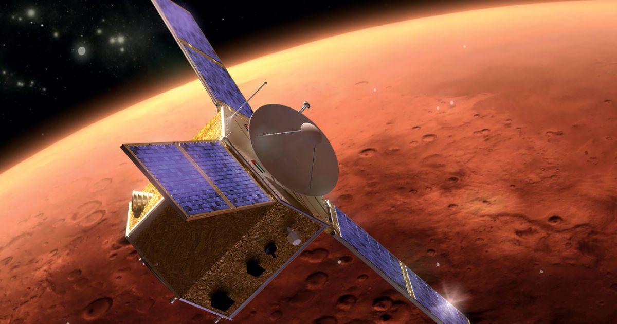 "Арабська міжпланетна місія сьогодні досягне Марса: пряма трансляція прибуття зонда ""Hope"""