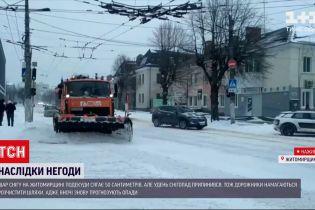 Погода в Украине: больше всего проблем с транспортом было в Ровенской и Житомирской областях