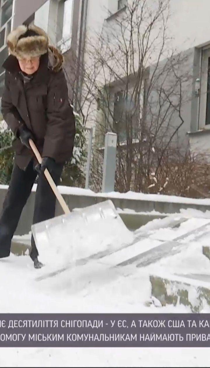 Новости мира: как за рубежом преодолевают последствия зимней непогоды и почему штрафуют за снег