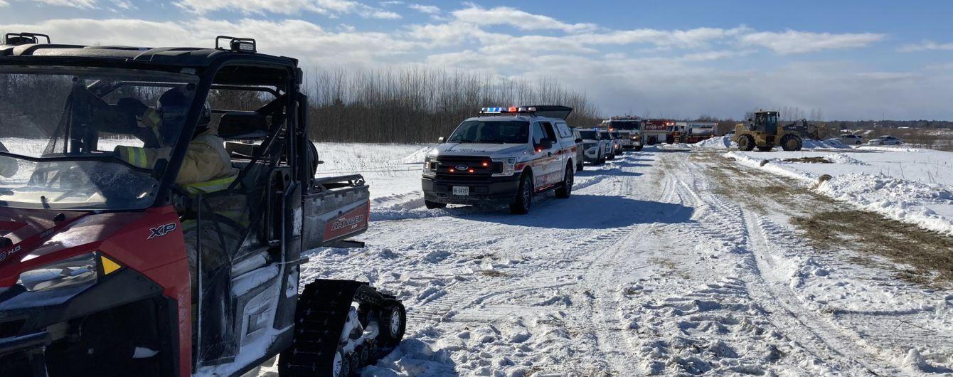 Возле столицы Канады разбился самолет, есть жертвы