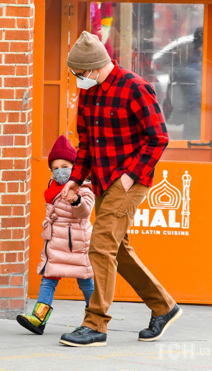 Бредлі Купер з донькою Леєю