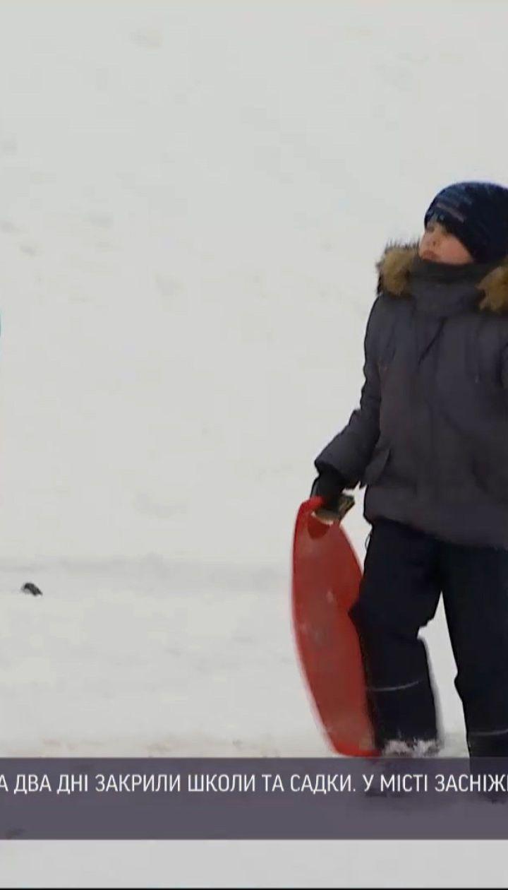 Новости Украины: столичные школы и садики закрыли на 2 дня из-за непогоды