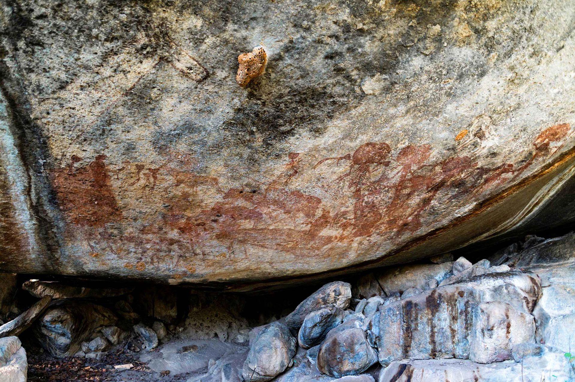 скельні малюнки танзанії