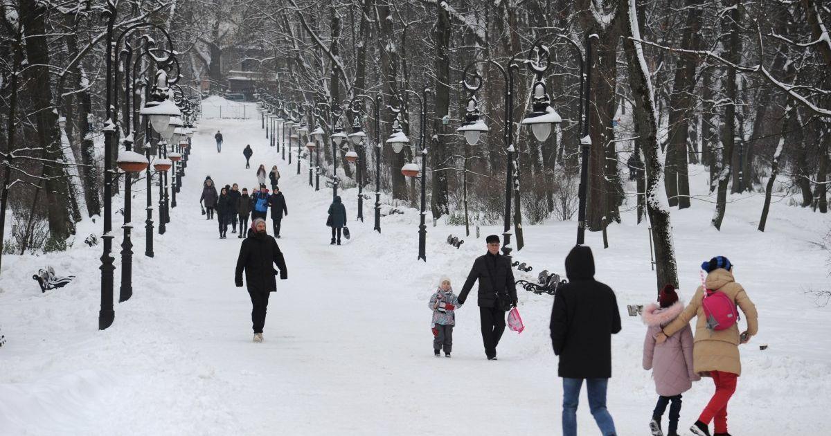 У Львові через снігопади школи перевели на дистанційне навчання