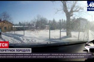Новини України: у Львівській області патрульні визволили вагітну зі снігової пастки