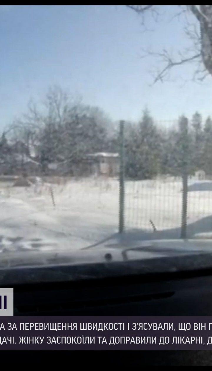 Новости Украины: во Львовской области патрульные освободили беременную из снежной ловушки