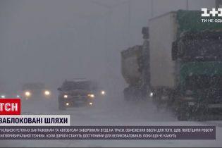 Погода в Украине: габаритному транспорта запретили проезд в нескольких регионах