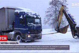 Погода в Украине: обильные снегопады продвинутся в Одесскую и Николаевскую области