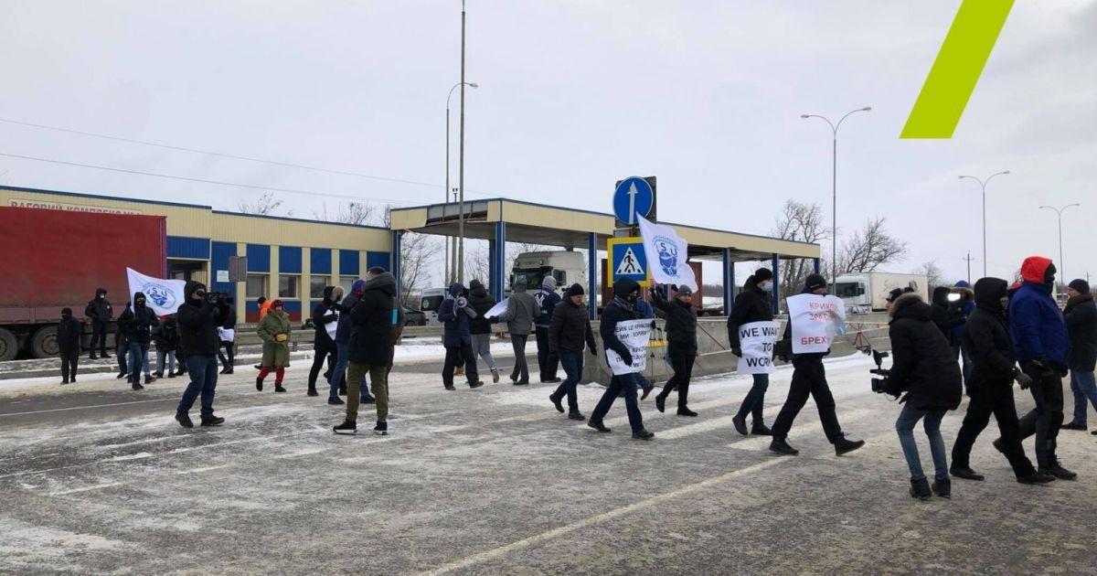 Моряки перекрили трасу Одеса — Київ: що відомо