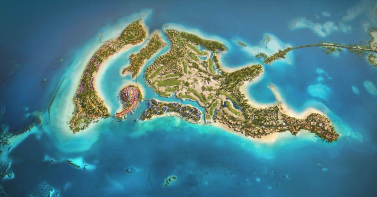 В Саудовской Аравии построят остров-курорт в виде дельфина