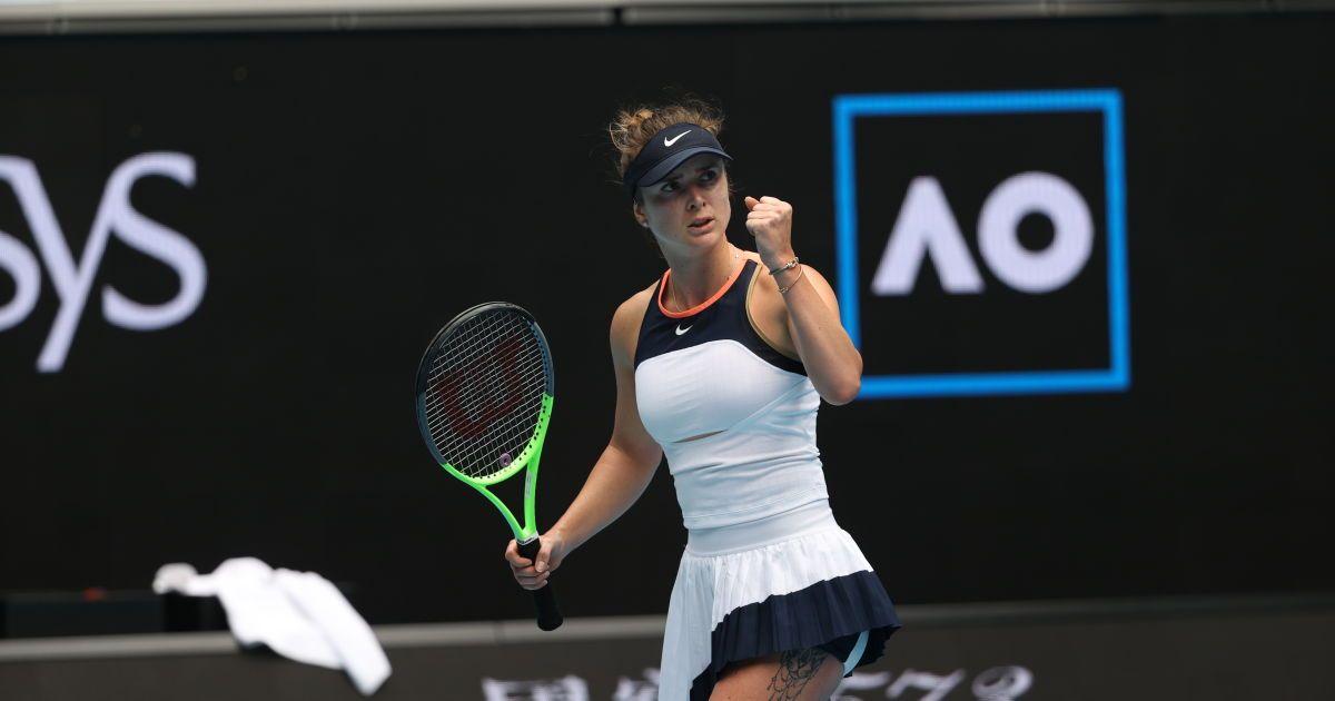 Свитолина разгромила бывшую россиянку и вышла в 1/8 финала Australian Open (видео)