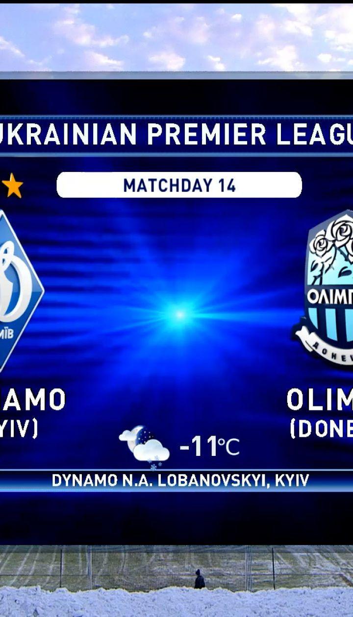 Динамо - Олимпик - 3:1. Обзор матча