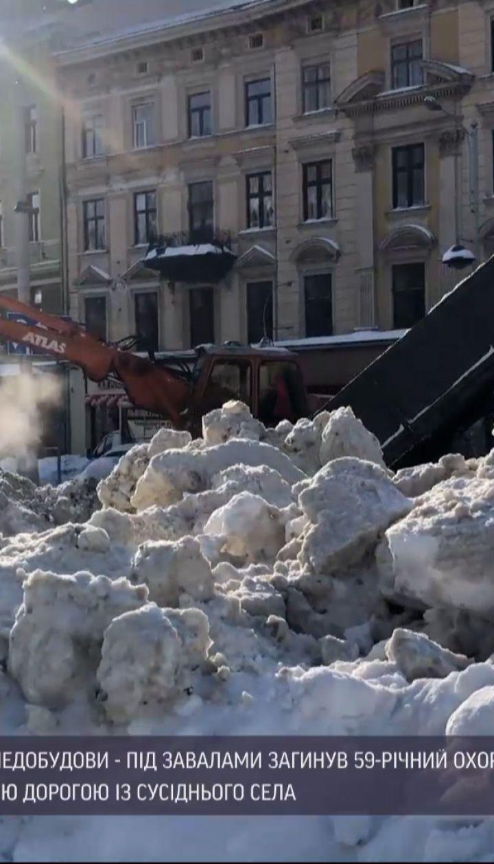 Погода України: у західних областях через заметілі та морози загинуло дві людини