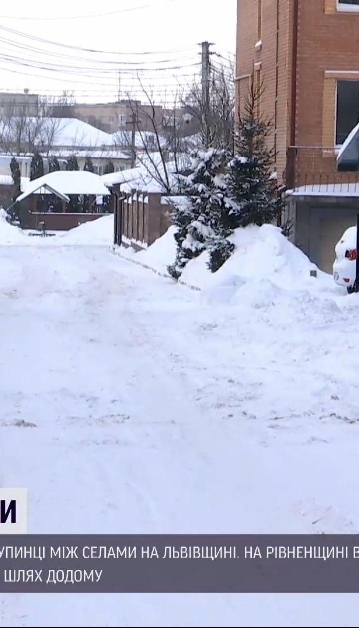 Новини України: на заході країни на смерть замерзли двоє людей