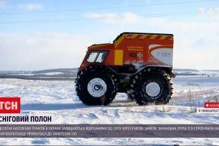 Погода України: яка ситуація на дорогах у Прикарпатті