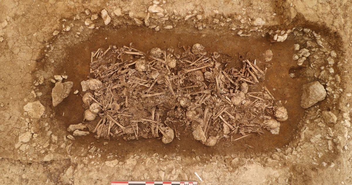 У Франції знайшли масове поховання добинеоліту