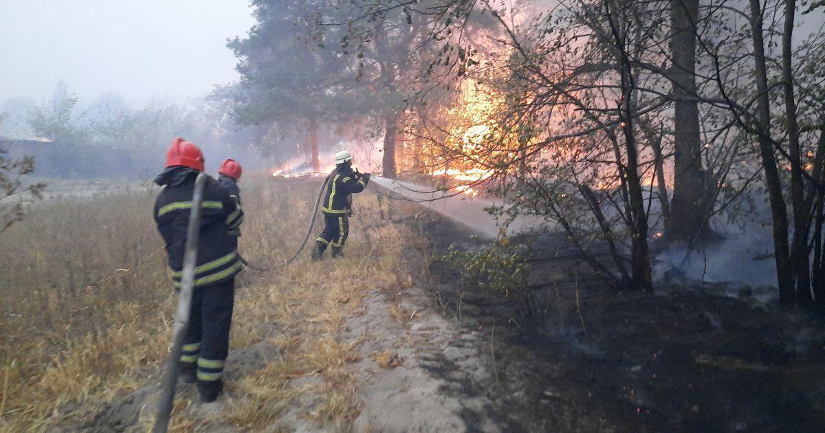 Подавали ложные отчеты о тушении пожаров: прокуратура сообщила подозрение спасателям Луганской области