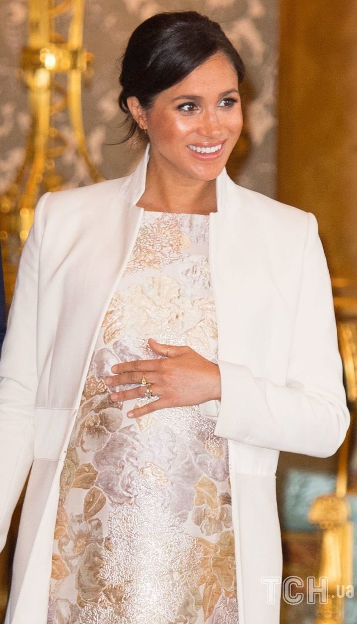 Герцогиня Меган во время первой беременности сыном Арчи