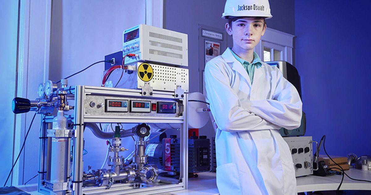 Школяр зібрав вдома ядерний реактор і потрапив до Книги рекордів Гіннеса