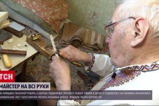 Новости Украины: пенсионер из Боярки стал интернет-звездой благодаря деревянным кормушкам