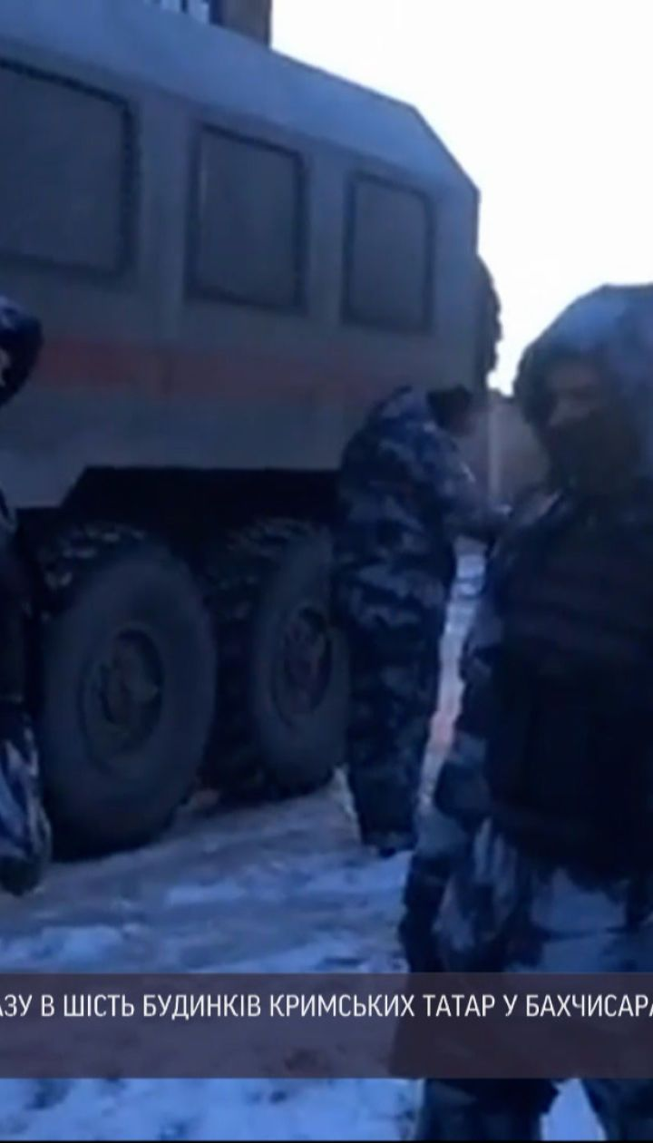 Новости Украины: российские силовики проводят массовые обыски в домах крымских татар