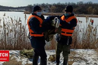 Новини України: у Дніпропетровській області провели спецоперацію з порятунку лебедя