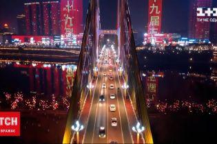 Новини світу: у Китаї святкують Новий рік, по всій країні влаштовують світлові шоу
