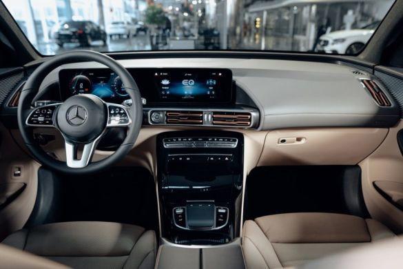 Mercedes-Benz EQC, салон