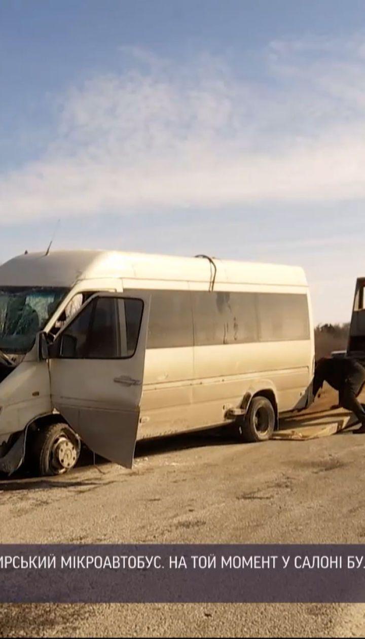 Новини України: під Харковом перекинувся пасажирський автобус, є постраждалі
