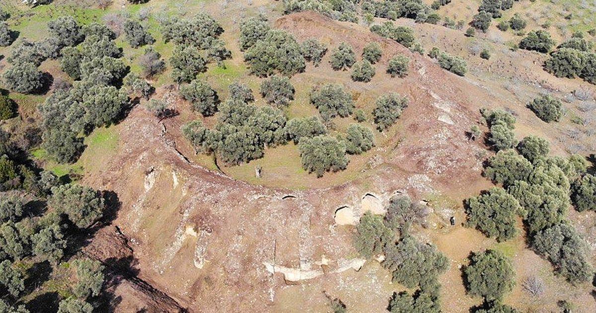 В Турции нашли точную копию римского Колизея