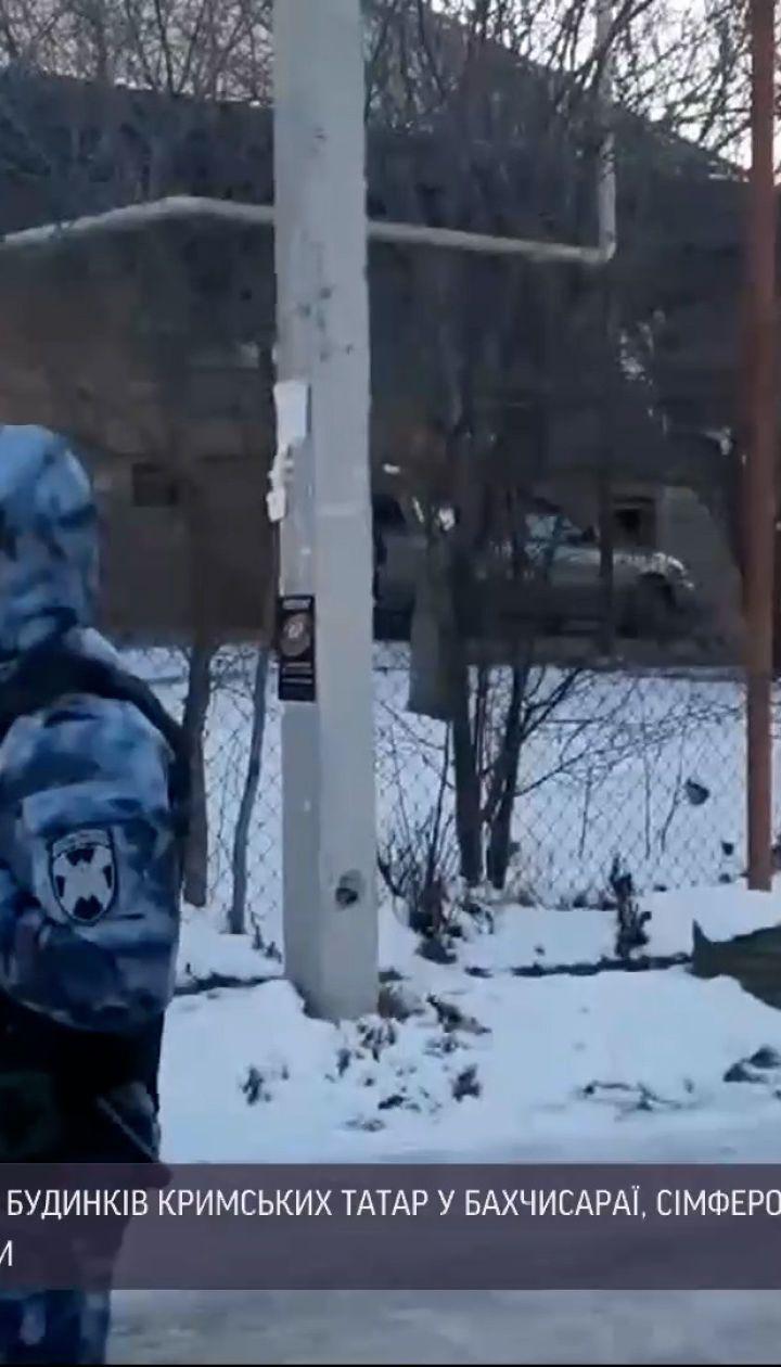 Новости Украины: силовики российской ФСБ провели незаконные обыски в домах крымских татар