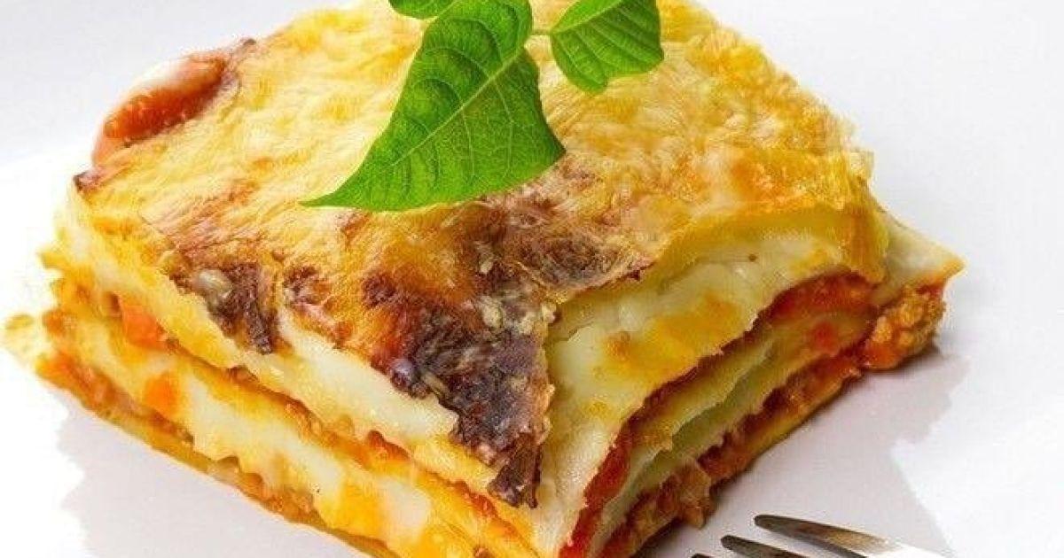 Быстрая сырная лазанья к ужину