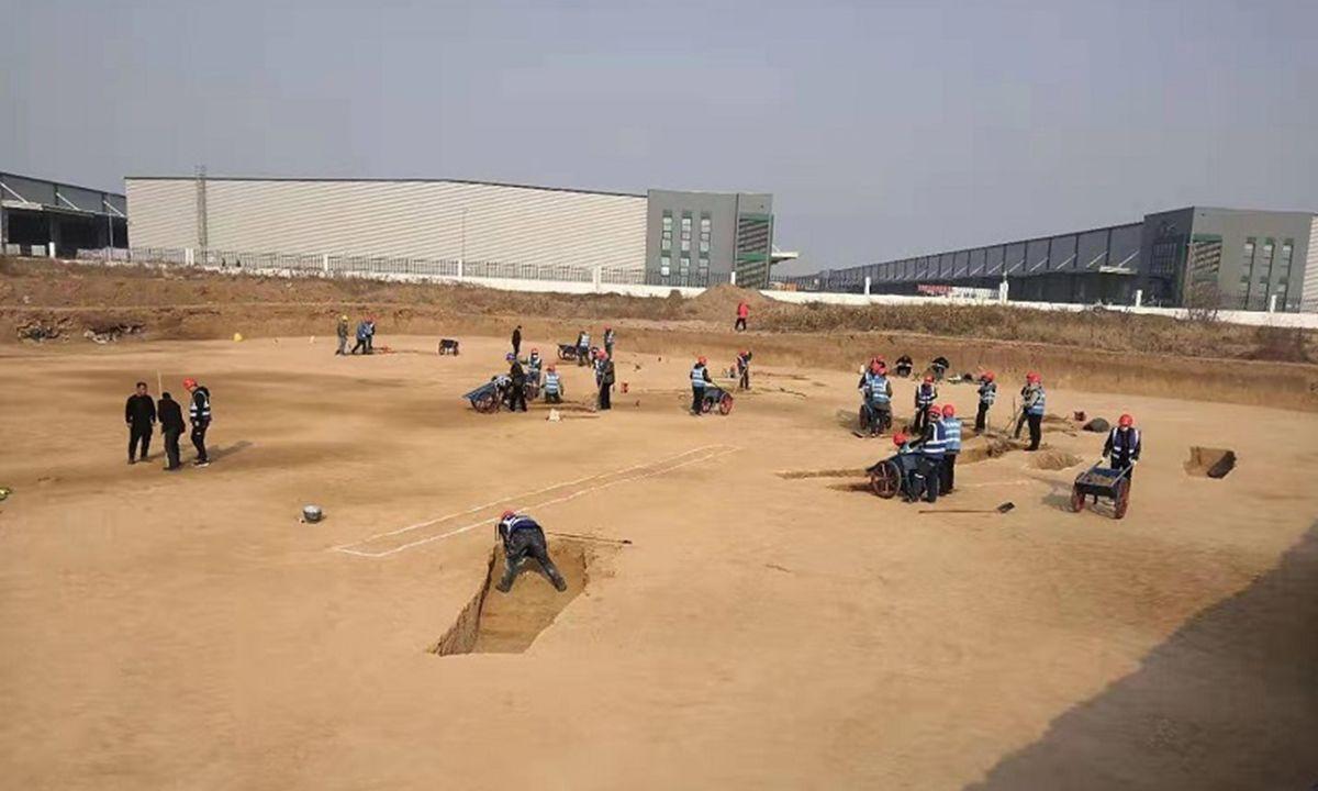 розкопки китай
